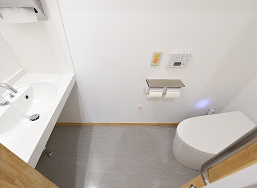 内視鏡待合女子トイレ